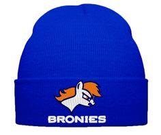 my little pony bromy little pont broncos beanie hat