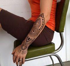 #Hand #women #ideas #design #girls #beautiful #love #peace #creative #arm #tattoo #henna #mehndi