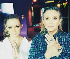 Billie Lourd Opens Up About Mom Carrie Fisher & Grandmother Debbie ...