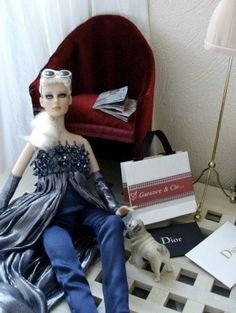 """Up all night: a shopping addict in Paris"" #pinned new to dollduels.com - #dollchat ^kv"