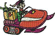 Free Christmas tajima .dst hand embroidery designs for babies