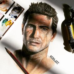 Uncharted<<<Holy crap! Where can I get art skills like that???