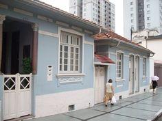 Casas antigas no Tatuapé - São Paulo - SP