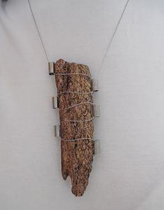 Driftwood Necklace ...www.facebook.com/groups/ergeturkaydin/ www.instagram.com/driftwoodist/