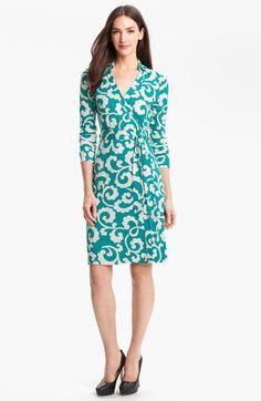 Diane von Furstenberg 'New Jeanne 2' Silk Wrap Dress available at #Nordstrom