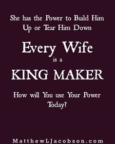 Wives are POWERFUL in the lives of their husbands. Build him up by speaking words of affirmation, respect, and confidence into the life of your man. 103 Words of Affirmation Every Husband Wants to Hear.