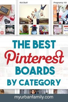 The Best Pinterest Boards by Category - I'm spend a lot of time finding great boards on Pinterest and I've put them together to share with you! And in an easy to follow format.