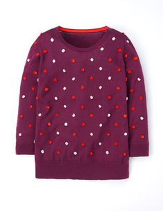 Pom-pom Sweater