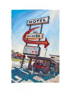 Kingman, Arizona – 2017 - The Bob Dylan Collection - Art - Castle Galleries