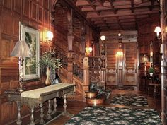Interior of The Mansion View Inn, Old West End, Toledo Ohio