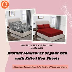 If you want to do not wrinkle on your bed when you wake up in the morning then try to fitted bed sheets. A perfect & quality bed sheet can change your entire room look. Choose the fitted sheets design online and make a comfortable to your bedroom space. King Size Bed Sheets, Double Bed Sheets, Fitted Bed Sheets, Yellow Bedding, Black Bedding, Most Comfortable Sheets, Ruffle Duvet, Bed Sheets Online, Water Bed