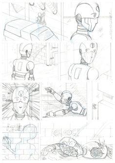 """M.REDONDO- Comics: * Adelanto de la 10ª Parte de """"Única"""""""