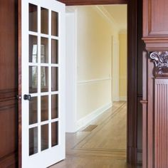 FL1500 study door in mahogany. Painted on one side & Pin by HomeHQ Artarmon on Internal Doors | Pinterest | Internal ...