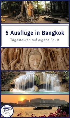 Bangkok ist eine lebendige und chaotische Stadt, manchmal zu lebendig und zu chaotisch! Wenn Du mal raus musst, versuch es mit diesen 5 Do-It-Yourself Tagesausflügen um Bangkok herum. #Thailand #Bangkok #Backpacking #Rucksackreise #Weltreise #Asien #Reisetipps #Tour #Tagestour #Ausflug #Trip #günstig