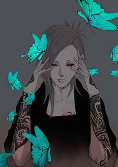 Uta // Tokyo Ghoul | I can't even tell if this is a genderbend or not but I LOVE IT