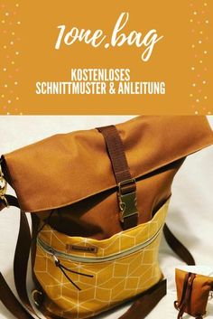 The is a chic bag that pulls away from a shoulder bag . Die ist eine schicke Tasche, die sich ruck-zuck von einer Umhängetasch… The is a chic bag that can be transformed from a shoulder bag into a backpack. Sewing Patterns Free, Free Sewing, Sewing Tips, Sewing Tutorials, Dou Dou, Diy Accessoires, One Bag, Clothing Hacks, Little Bag