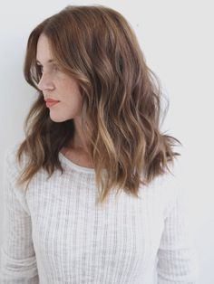 Short Hairtyles for Wavy Hair, Balayage Brown Hair Wavy, Messy Hair, Hair Wavy Curly Very. Haircuts For Wavy Hair, Curly Hair Cuts, Curly Hair Styles, Cool Hairstyles, Frizzy Wavy Hair, Medium Length Wavy Hairstyles, Hairstyles 2018, Toddler Hairstyles, Beautiful Hairstyles