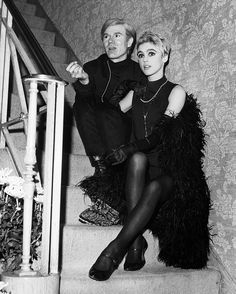 Edie Sedgwick - With her choppy crop and kohl-rimmed eyes, the gamine heiress became one of Andy Warhol's most famous superstars, inspiring him to write a number of films for her, including Poor Little Rich Girl and Afternoon.