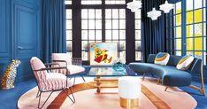 La diseñadora de interiores y mobiliario Géraldine Prieur nos abrió las puertas de su hogar parisino, llamativo y sorprendente.