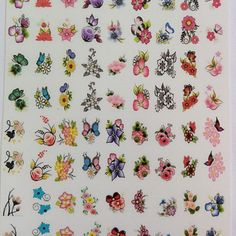 Nail Stickers, Nails, How To Make, Buttons, Wallpapers, Wide Nails, Flower Nails, Nails For Kids, Nail Decals