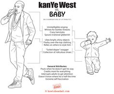 Kanye West vs. Baby, and examination of attributes