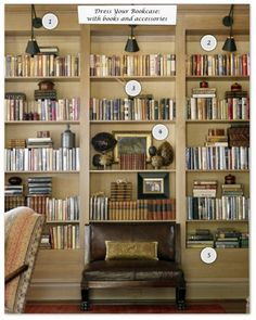 How to Dress Your Bookcase 2 of 4