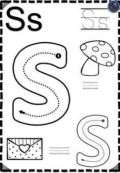 Fichas Abecedario direccional – Imagenes Educativas Pre K Activities, Preschool Learning Activities, Preschool Curriculum, Preschool Lessons, Alphabet Activities, Pre K Worksheets, English Worksheets For Kids, Preschool Worksheets, Spanish Lessons For Kids