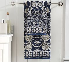 *actual* Master Bath Towels!! Indah Jaquard Towels