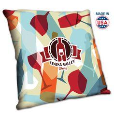 Med Throw Pillow- Full Color