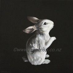 Vintage Bunny Figurine - Jane Crisp 2013