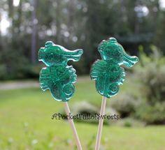 seahorse lollipops... beach favors