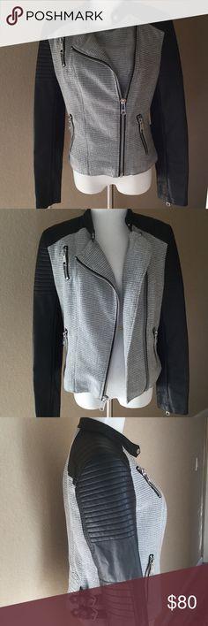 Bad As Can Be Moto Jacket Black Rivet Moto Jacket. Excellent Used Condition. Black Rivet Jackets & Coats