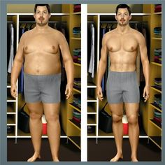 Male Weight Loss Before and After If you would like to lose weight and keep it off try the tips at http://weightlosscentralhq.com