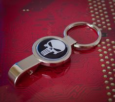 Cool The Punisher Opener Keyring by UnofficiallyOriginal on Etsy
