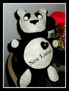 (One of the first things I made) Panda Plush