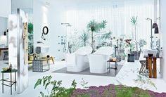 ห้องน้ำของนักออกแบบเฟอร์นิเจอร์ชื่อดัง