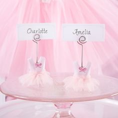 Ballerina Place Card Holders by Beau-coup