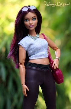 Barbie Life, Barbie World, Barbie Patterns, Doll Clothes Patterns, Barbie Fashionista Dolls, Barbie Model, Beautiful Black Babies, Dolls Dolls, Collector Dolls