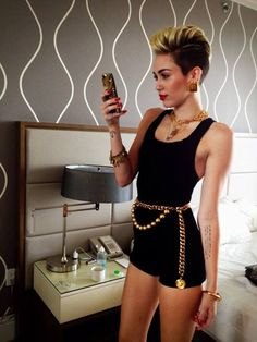 new miley cyrus. not teenybopper miley cyrus