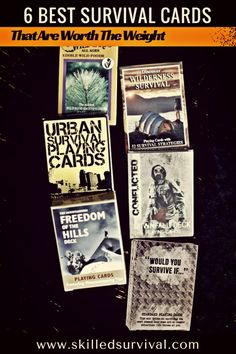 6 Best Survival Playing Cards That Are Worth The Weight #bugoutbag #prepper #shtf