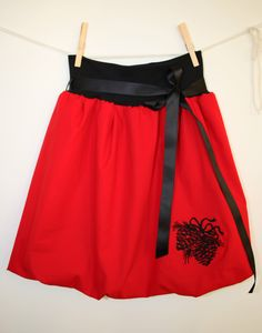 A personal favourite from my Etsy shop https://www.etsy.com/listing/496329209/red-bubble-skirt-for-women-with