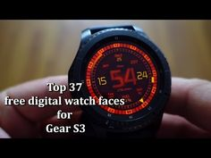 Top 37 free digital watch faces for Gear S3 - Andrasi.ro