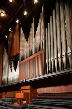 3000-pipe Organ at Perth Concert Hall: Perth, Western Australia. Photo by Stephen Nicholls.