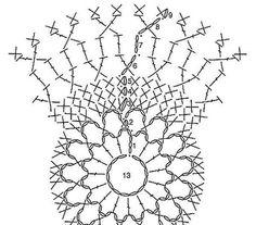Елочные шары связанные крючком / Хенд мейд