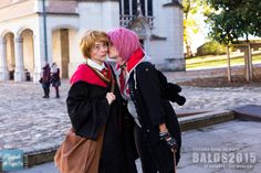 My costume Young Remus, and my best friend dressed as Tonks. Made for the ball Wizards, the castle of Blois, October 31, 2015. #remuslupin #cosplay #remuslupincosplay #moony #marauders #smack #tonks #nymphadoratonks #tonkscosplay