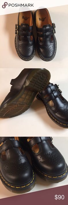 Dr. Martins Mary Janes New black pair of dr. Martins US sz 5 , no sign of wear ! Dr. Martens Shoes Mules & Clogs