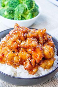 General Gau's Chicken Recipe