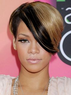 Rihanna's New Short Medium Hairstyles