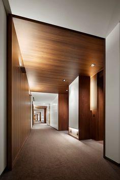 hotel corridor /AN. Hotel Lobby, Hall Hotel, Hotel Hallway, Hotel Corridor, Lobby Interior, Interior Architecture, Interior Design, Corporate Interiors, Hotel Interiors