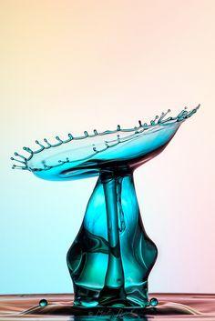 High speed liquid art | Photographer: Markus Reugels